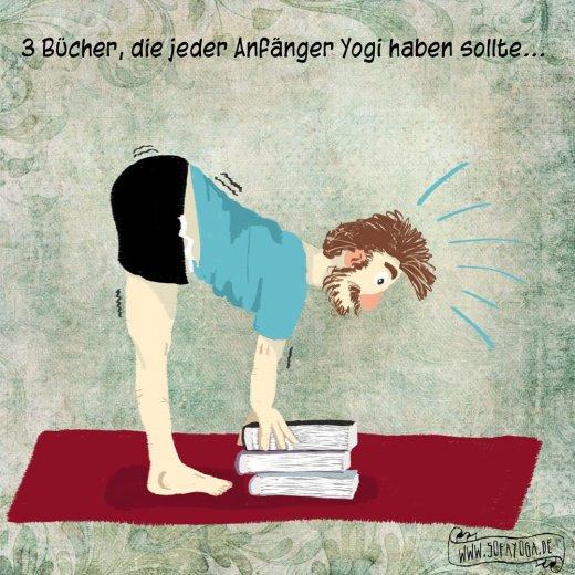3 Bücher die jeder Anfaenger Yogi haben sollte