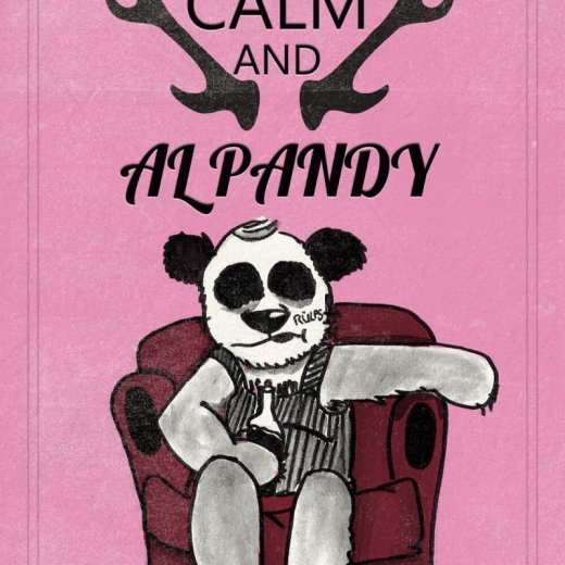keep calm and al pandy