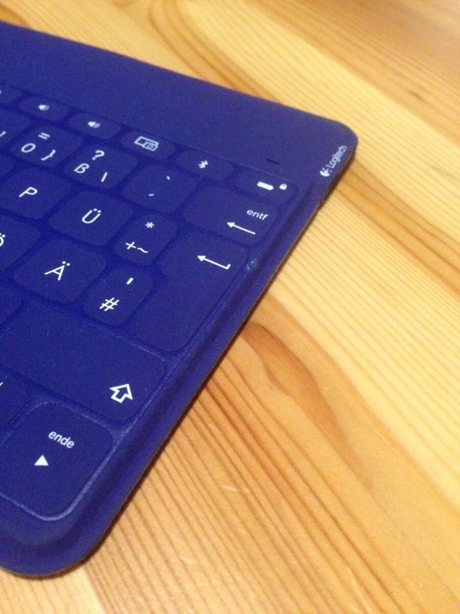 Kleine Schramme an Tastatur