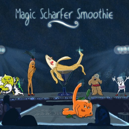 Magic scharfer Smoothie