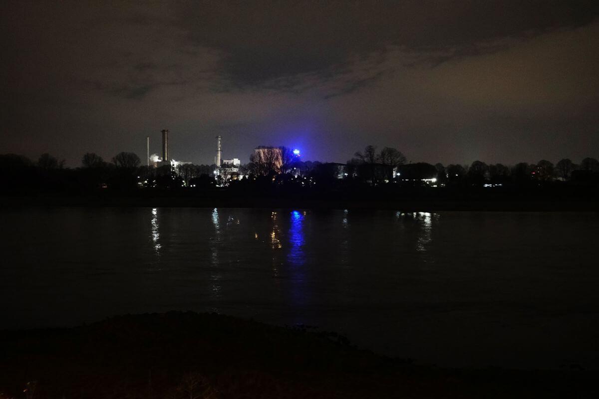 Industrieromantik am Rhein