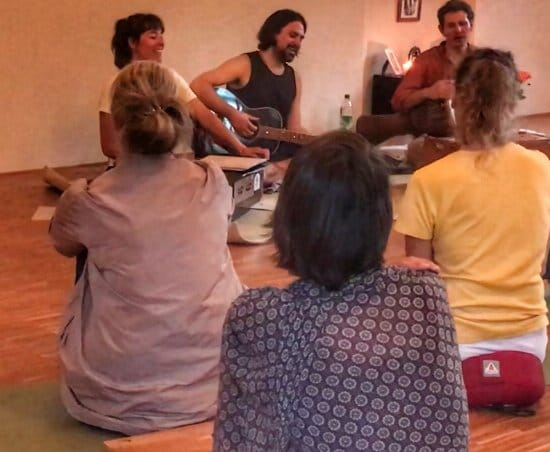 Kirtan im Soma Yoga in Freiburg